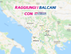 Raggiungi i Balcani con Freccia dell'Adriatico