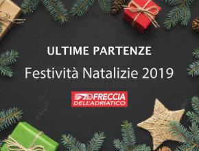 Operatività Festività Natalizie 2019